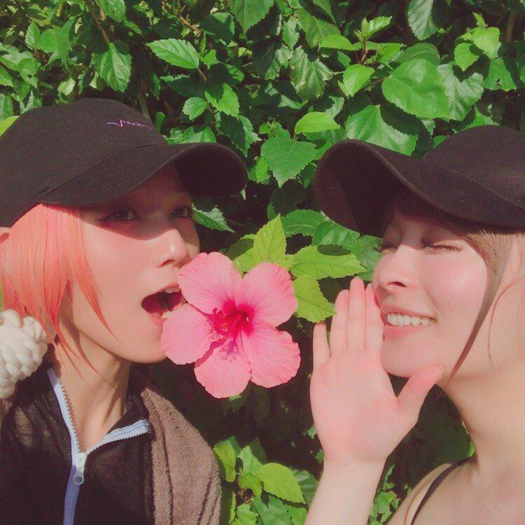 まみたすと沖縄旅行してきたよ! 我らの夏始まりましたーーー!!! (´-`).。oO眩しくて目が開けられない