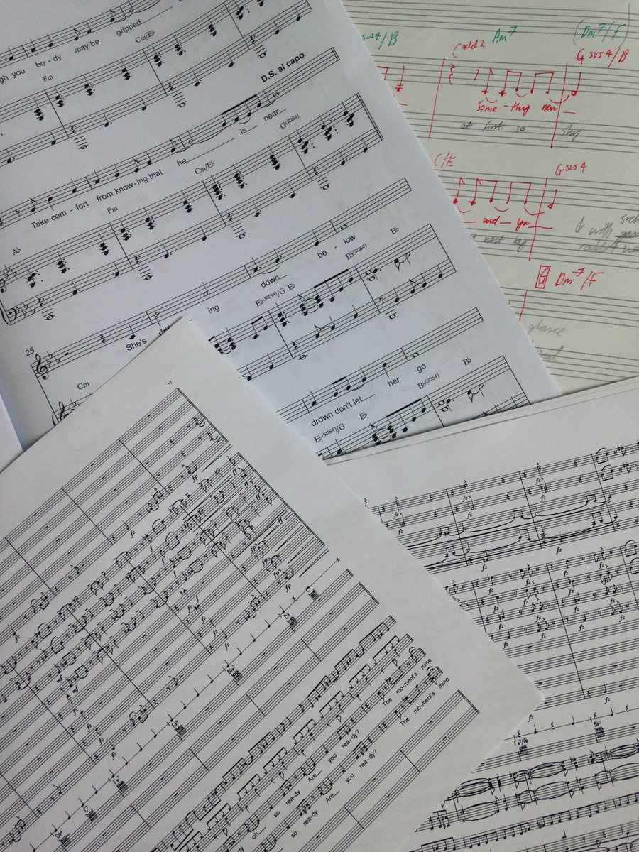 Mild jet lag from India won&#39;t stop work on #orchestration of @POP_TheMusical #musicals #newmusic @KESBath   <br>http://pic.twitter.com/FyuEvQIoJS
