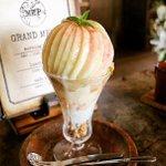 愛知県岡崎市にあるミールカフェの極桃パフェ食べてみたい🍑💕 pic.twitter.com/ZTmh…