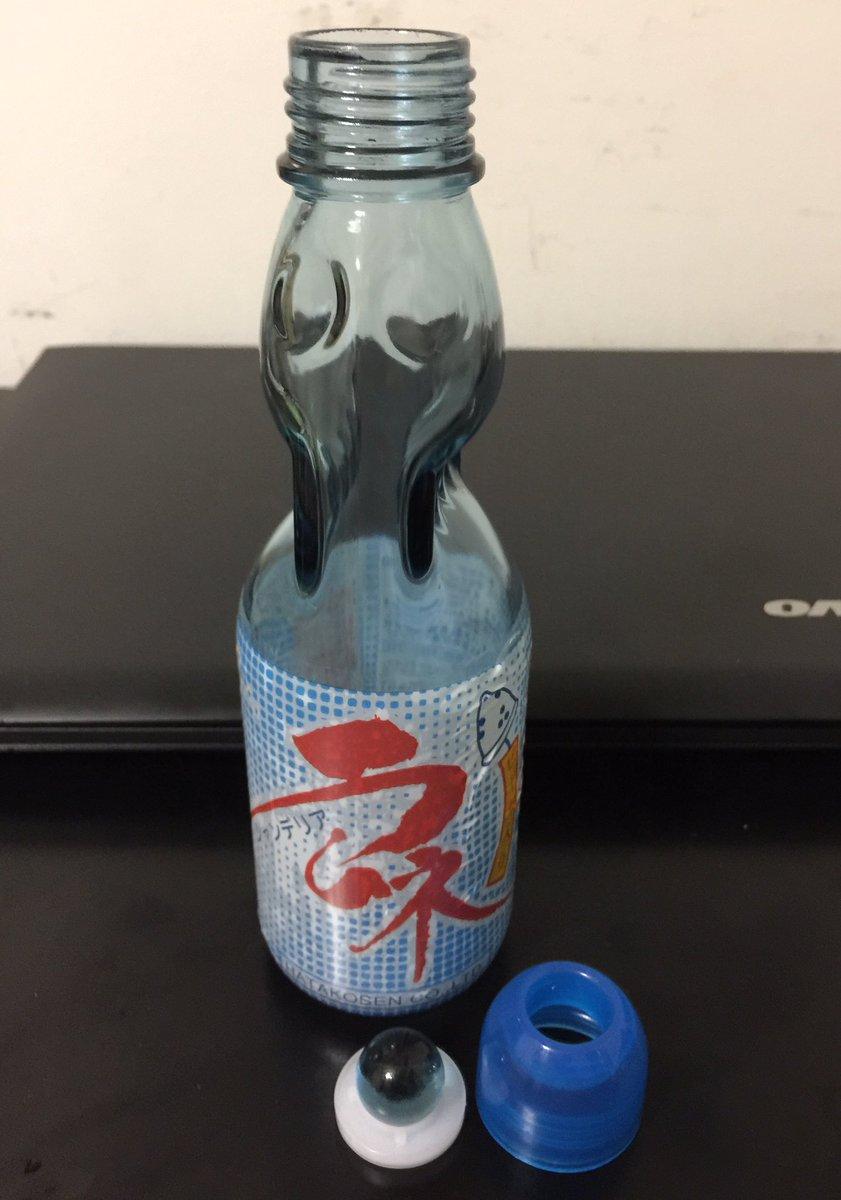 取り 方 ラムネ ビー玉 の ラムネのビンからビー玉を取り外しリサイクルするための方法