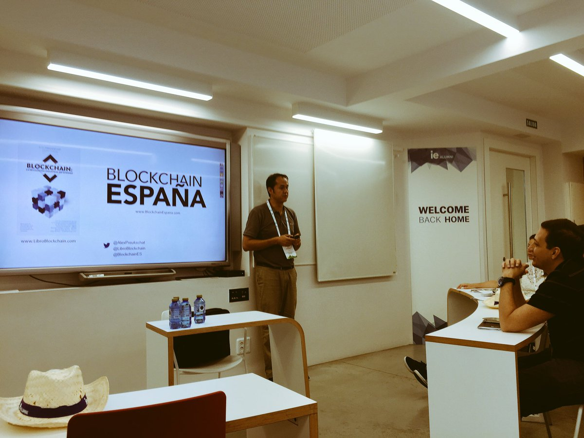 About #Blockchain in #Spain! #IEGAW