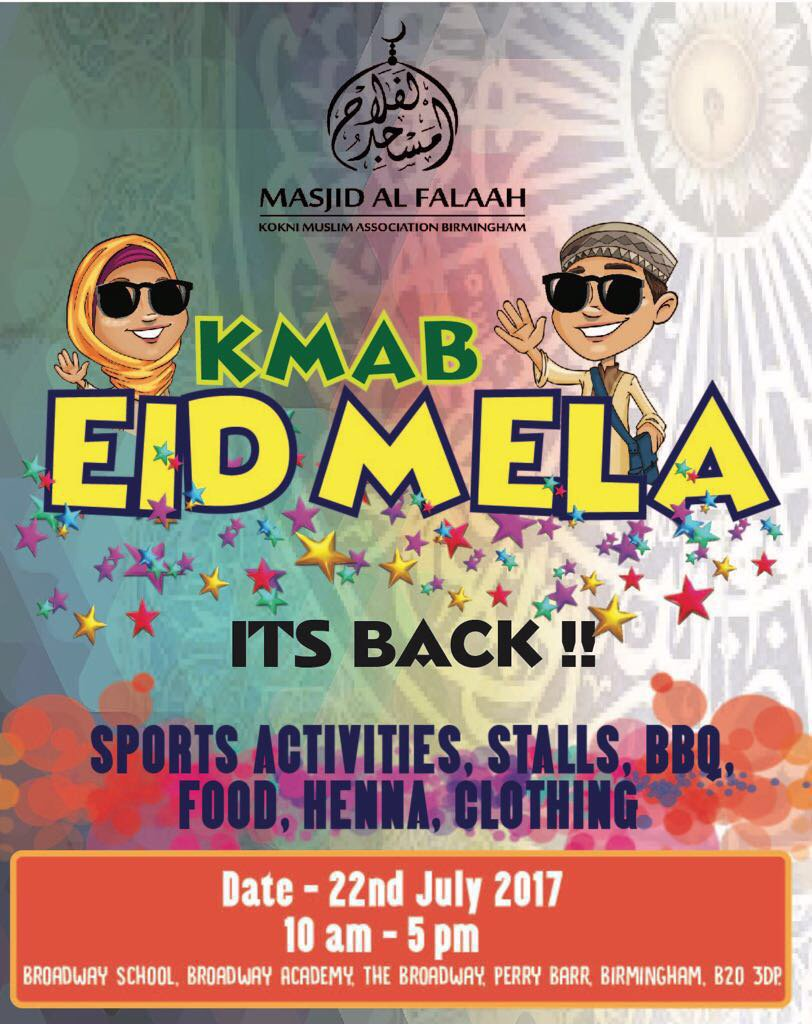 #Eid Mela in full swing at Broadway School #Birmingham. Bring your family and come and #enjoy #fun<br>http://pic.twitter.com/wg1lZ5en78