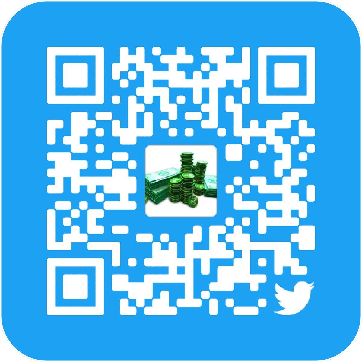 qr code robux Roblox Roblox Roblox Robuxro Twitter