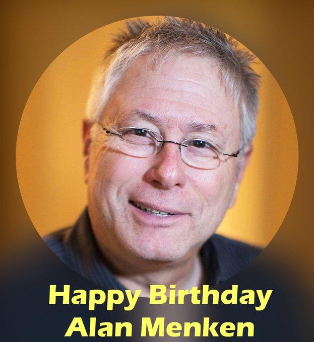 Happy 68th Birthday to legendary Disney song writer, Alan Menken