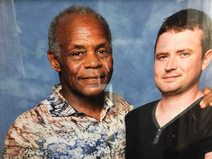 Happy Birthday to Danny Glover... met him a few years ago.