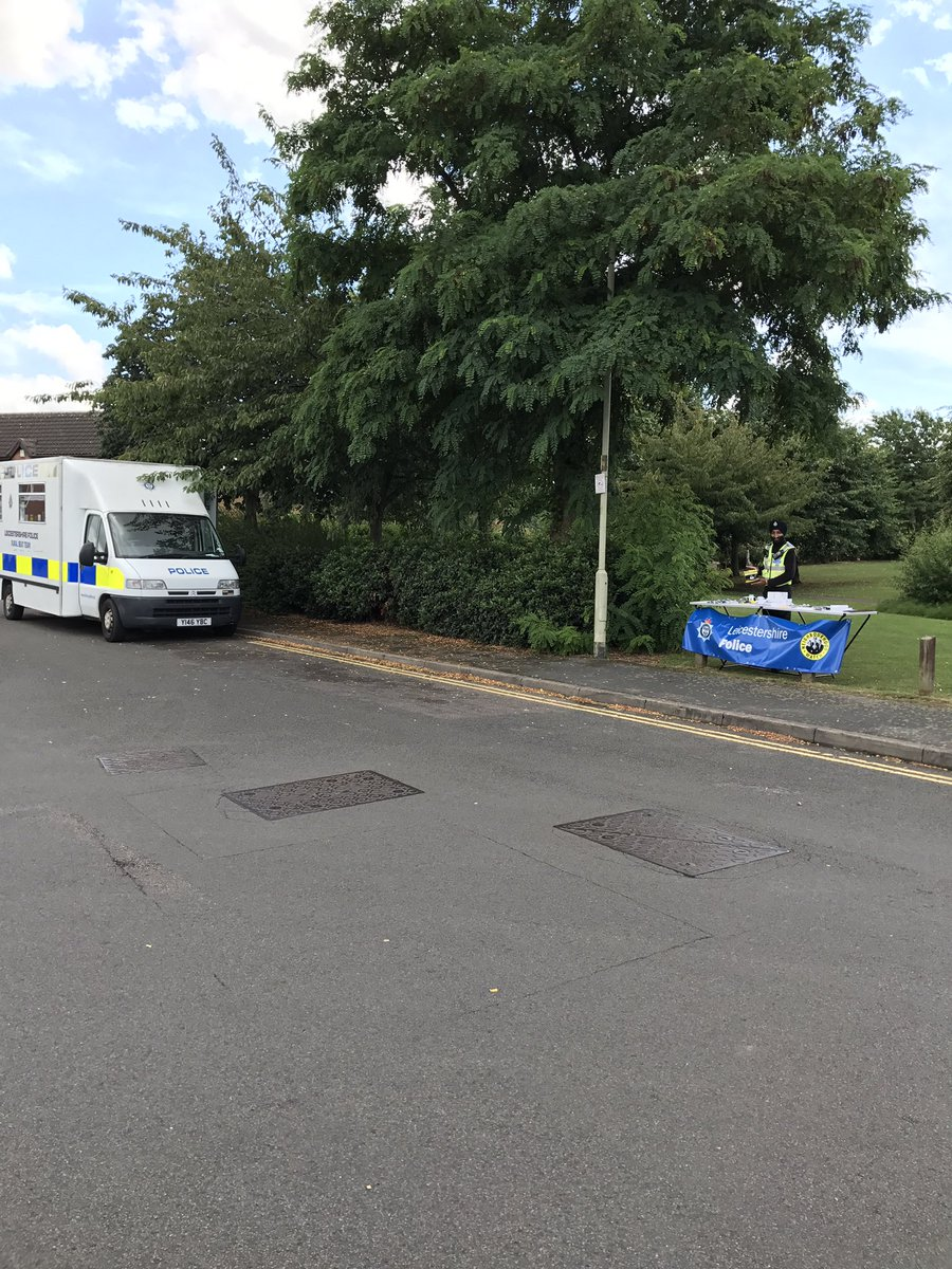 """Charnwood Police on Twitter: """"Beat NL61 Summer Roadshow on now till 4pm at Winfield Park, hobby horse estate, Syston https://t.co/pBvRxAwtG5"""""""