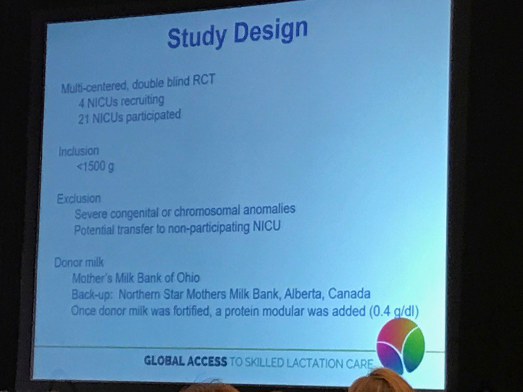 Sharon Unger speaking about the DOMINO study @hmbana4babies #ILCA17 https://t.co/dFeEewFF2A