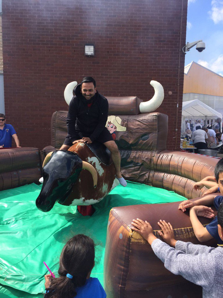 Having #fun on Rodeo  at #Eid Mela #MAFBham #Brumhour<br>http://pic.twitter.com/udTSSwFwOy