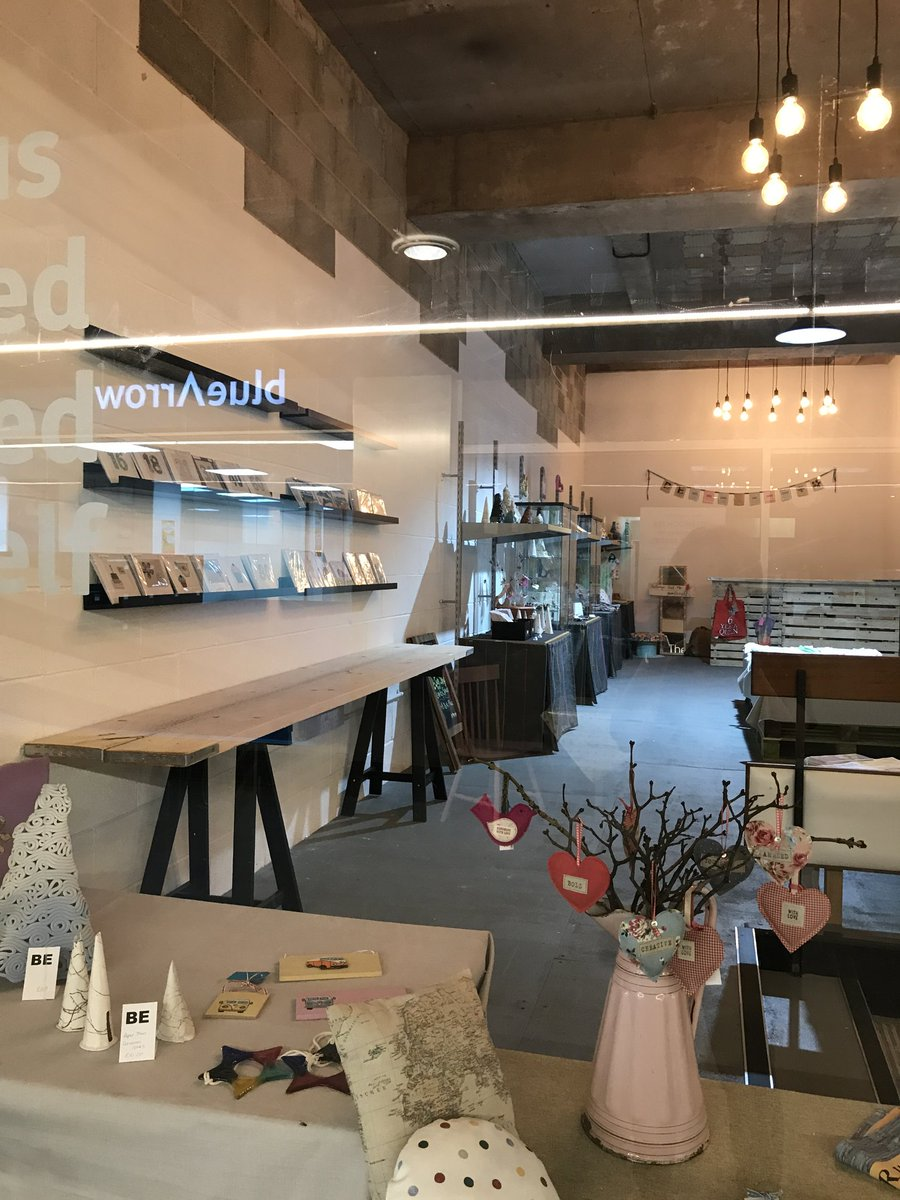 Look at our new maker/creater/artisan retail space #yorkplace @hometownplus #innovate #countercoin pop in to find out more<br>http://pic.twitter.com/EGiAseDL2m
