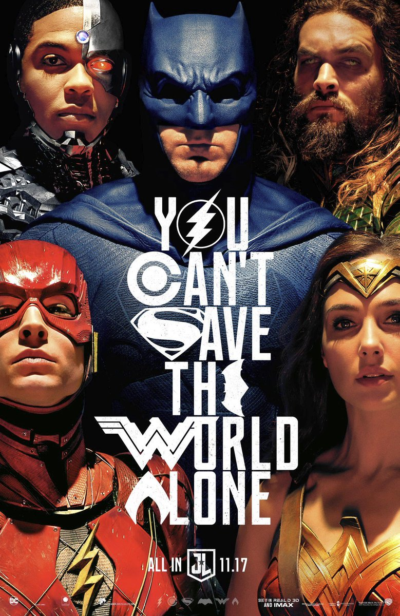 New Justice League Poster