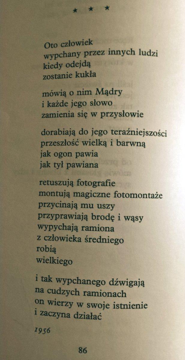 Robert Rutkowski On Twitter Tadeusz Różewicz Na Dziś
