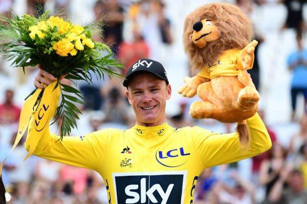 Ciclismo: Chris Froome ha vinto il suo 4° Tour de France