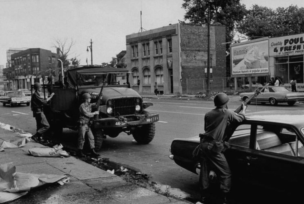 a study of the detroit riots of 1943 and 1967 In 1968, focus:hope began paving a road of humanitarianism through the riot torn neighborhoods of detroit, which for years after the riot were saturated with fear and hate they began with a massive food distribution program and now feed some 50,000 mothers, children and seniors a month.