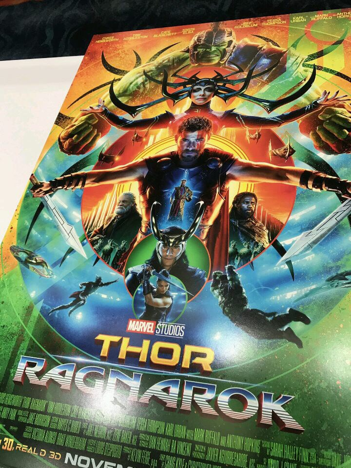 thor ragnarok gets a uniquely awesome new theatrical