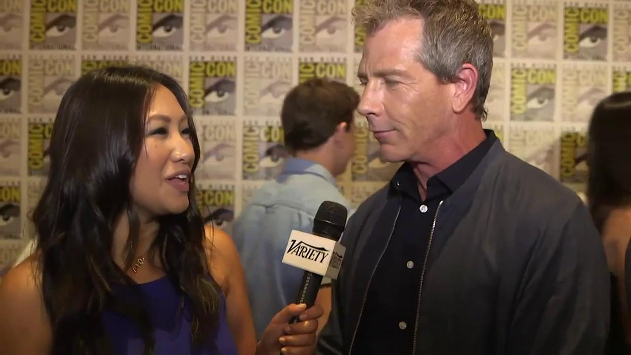 """Ready Player One's"" Ben Mendelsohn explains what he geeks out to #SDCC2017 #SDCC https://t.co/gkO4K0Tv0D"