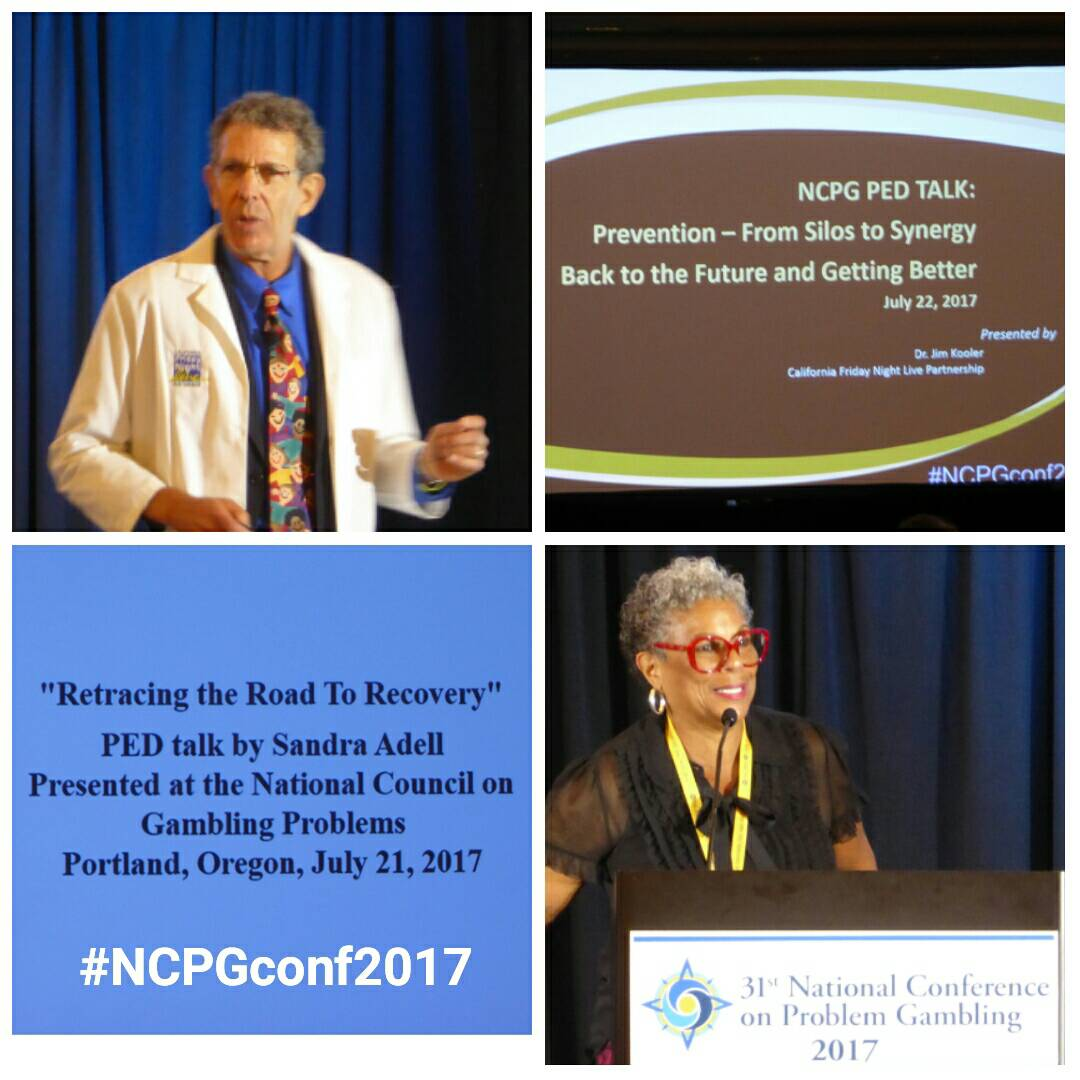 Wonderful PED talks about Recovery and Treatment this morning! #NCPGconf2017 #responsiblegambling #problemgambling <br>http://pic.twitter.com/YZ2MPqfjkA