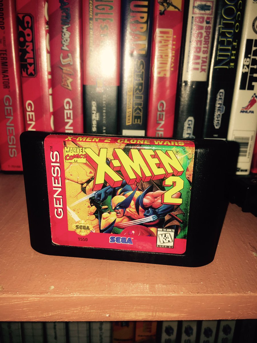 #Sega was always synonymous with X-Men games. Lots are bad, but X-Men 2 rocks hard. Happy Saturday! #retrogaming<br>http://pic.twitter.com/553q7z6Q1P