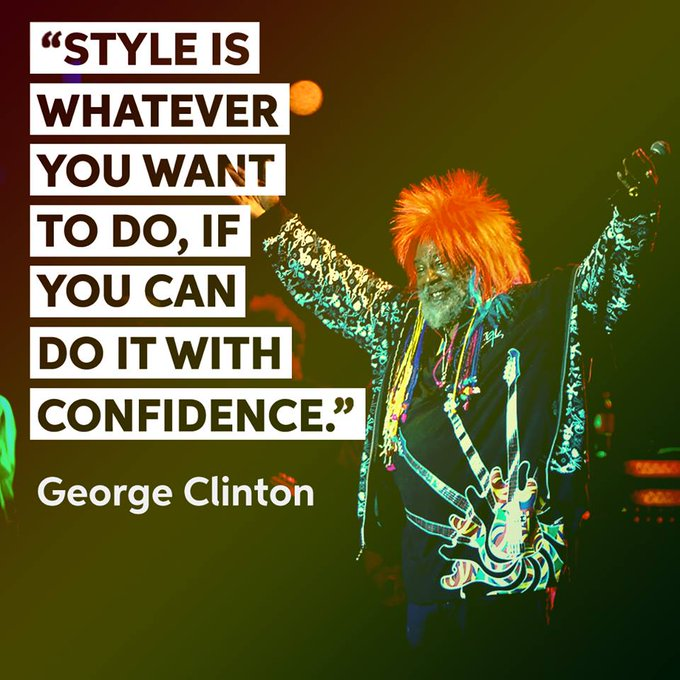 Happy 76th birthday to one of the great innovators of funk - Mr. George Clinton.