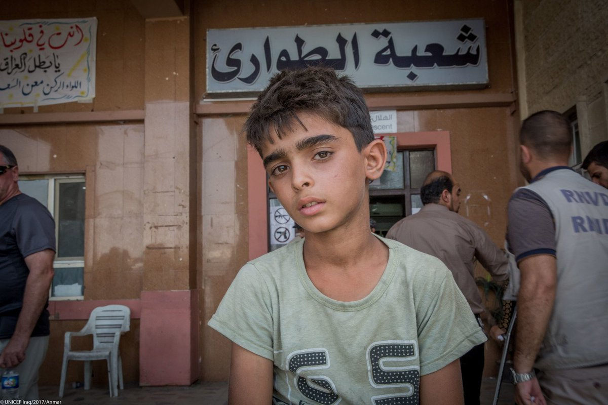 Children caught up in violence in #Mosul & conflicts in the region need immediate protection  https://t.co/vZhiX7LhIM#ChildrenUnderAttack