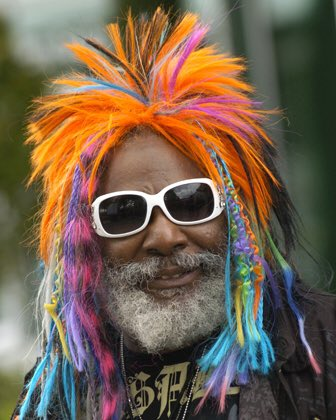 "Happy birthday to ""Dr. Funkenstein\"" himself - The one & only George Clinton!!!"