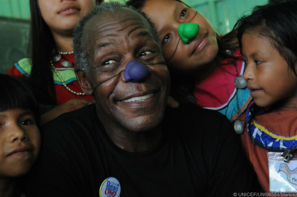Happy birthday to our Goodwill Ambassador @mrdannyglover. Thank you for supporting our work #foreverychild
