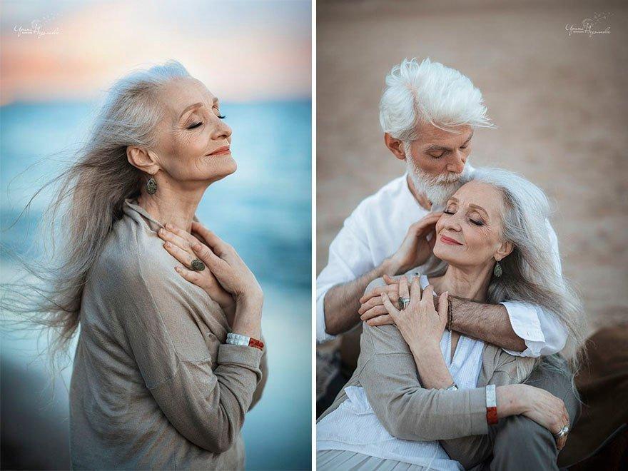 Фотограф сняла невероятно красивую пожилую пару, чтобы показать, что любовь не подвластна времени  Часть 1