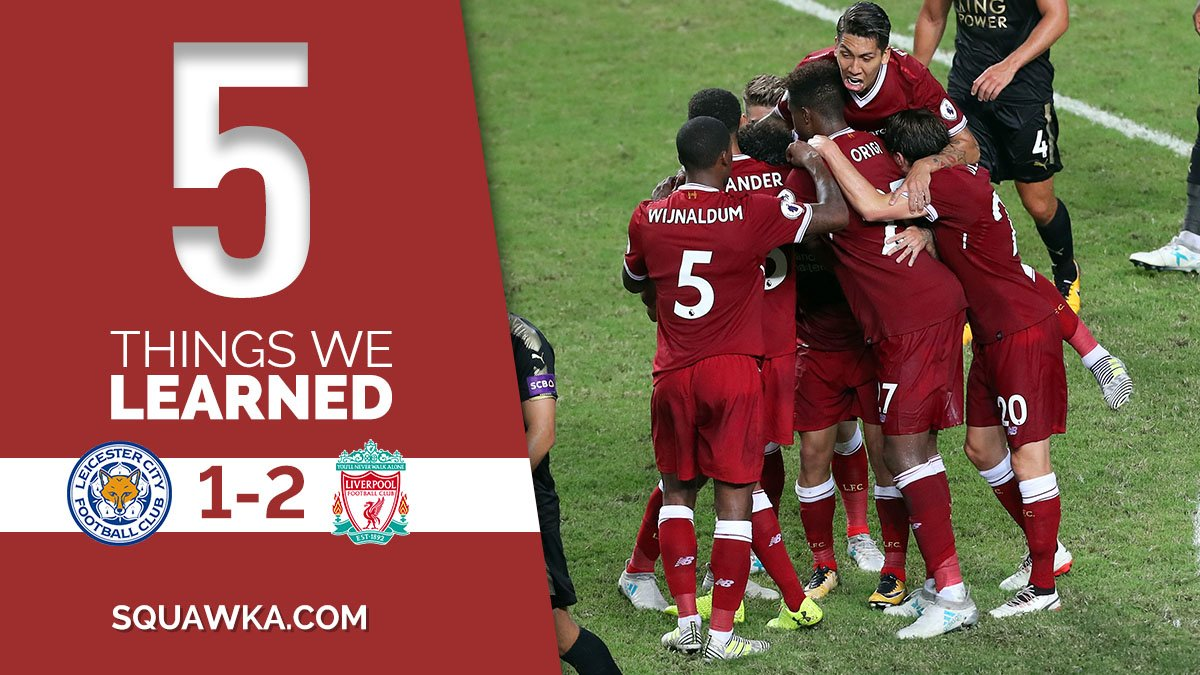 5 things learned from liverpool's barclays asia trophy