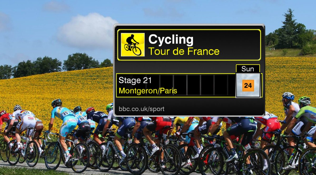 Risk of rain for the riders on Sunday afternoon as they head up the #Champs-Elysées for the conclusion of this year&#39;s #TourdeFrance. LM<br>http://pic.twitter.com/KcBhTte2YS