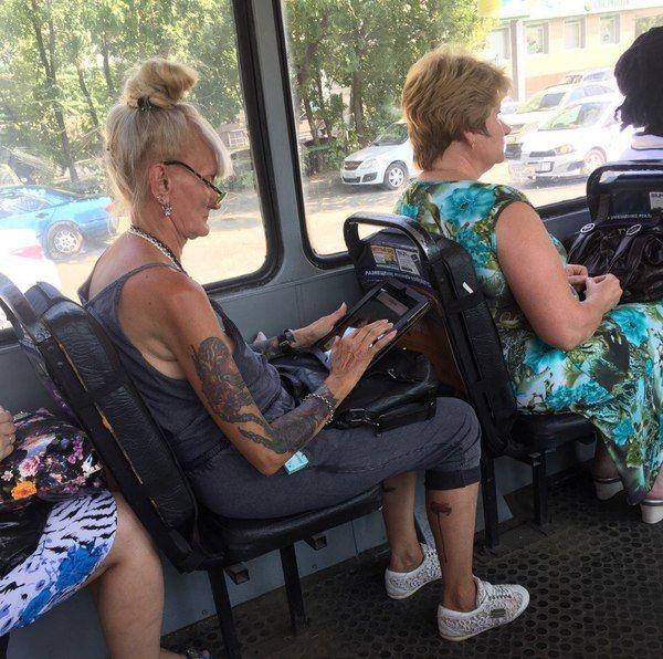 Всем кто спрашивает как будут 'выглядеть твои татуировки в старости'