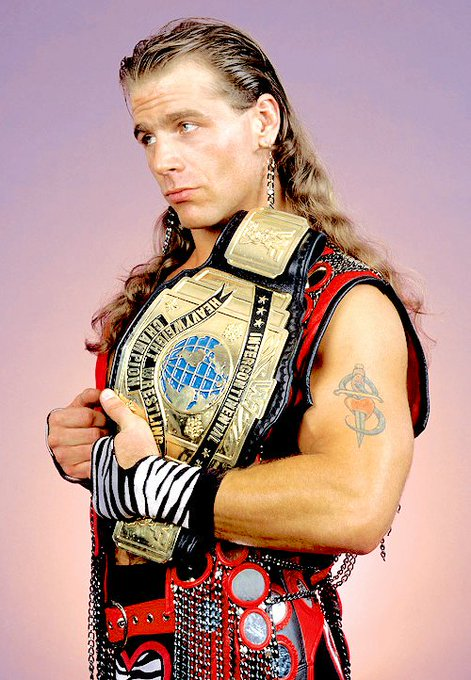 Happy Birthday to my favorite Superstar of all time. My inspiration for doin\ this, Shawn Michaels!