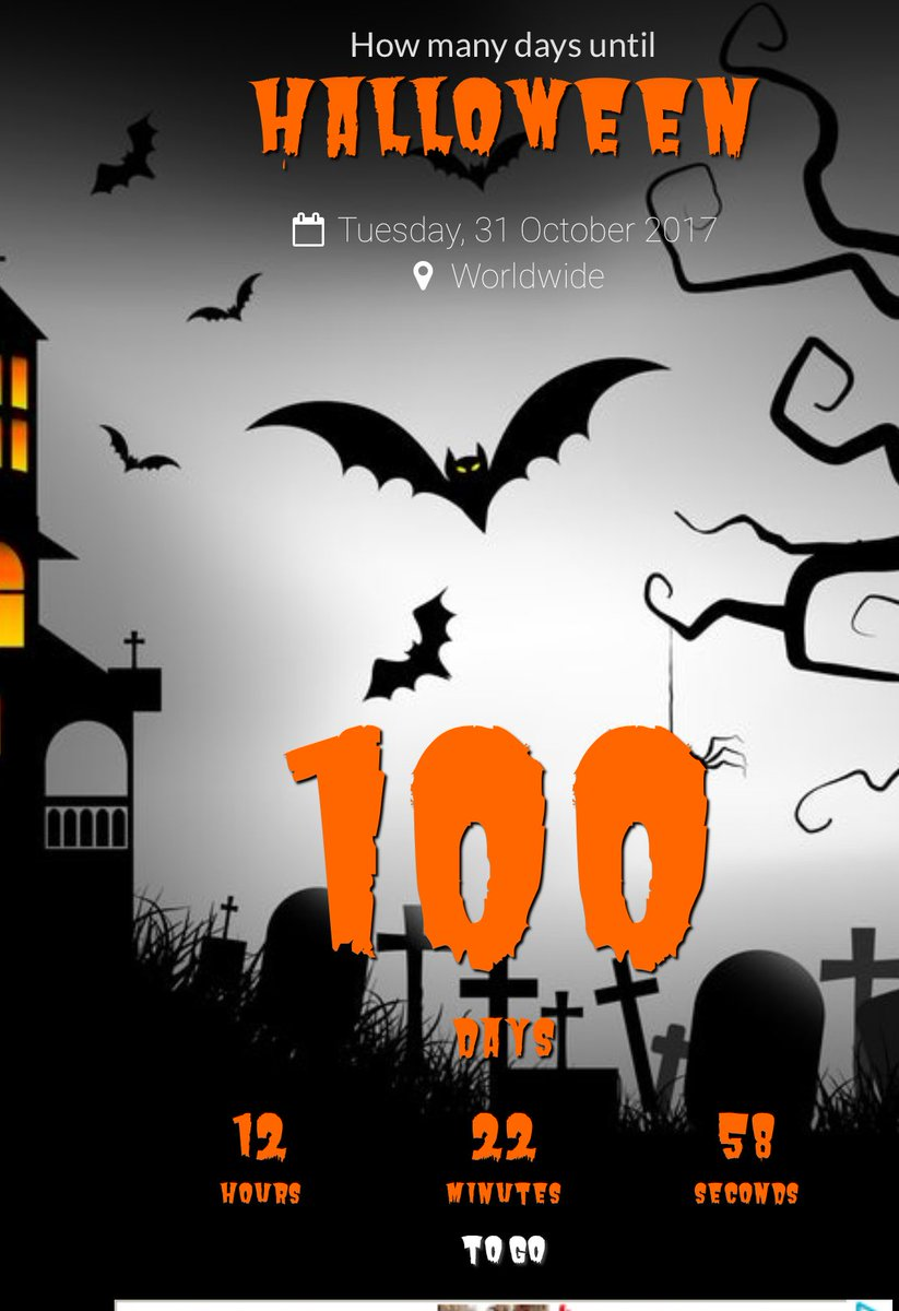 "richard christy on twitter: ""100 days till halloween!!! time to"