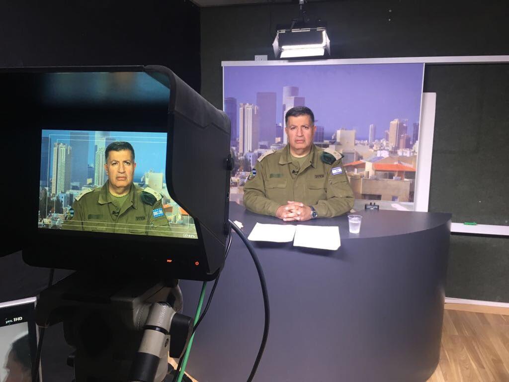 تابعوا مقابلة @CogatArabic بعد قليل على شاشة @AJArabic https://t.co/nze156SLGX