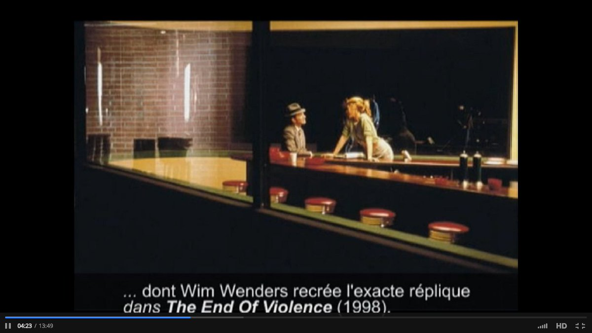 Patricia On Twitter Artinfluencesfilm Hopper S Influence On Cinema The Killers By Robert Siodmak The End Of Violence By Wim Wenders Https T Co Vrsyddtagm The End of Violence