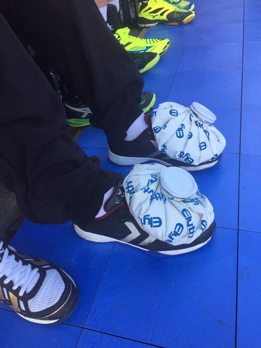 In Esslingen müssen die Füße gekühlt werden. #handball #UnserRevier https://t.co/uJIv4pvBAx
