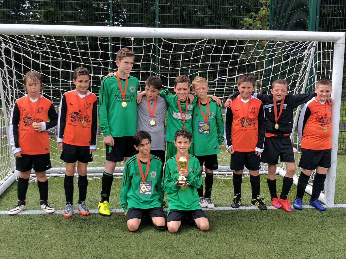 Thanks to @LMJFC and @PurtonYouth for attending our u11 tournament today at #StratFest17  Congratulations to the worthy winners @LMJFC
