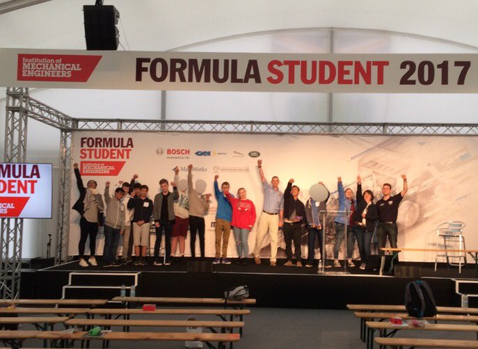 Brilliant day had by all! Big thanks to @FormulaStudent @IMechE @BlackrockAllan @SilverstoneUK and Tom! #FS2017 #outreach #NCOP @UniofHerts<br>http://pic.twitter.com/GeJ77fmZrD