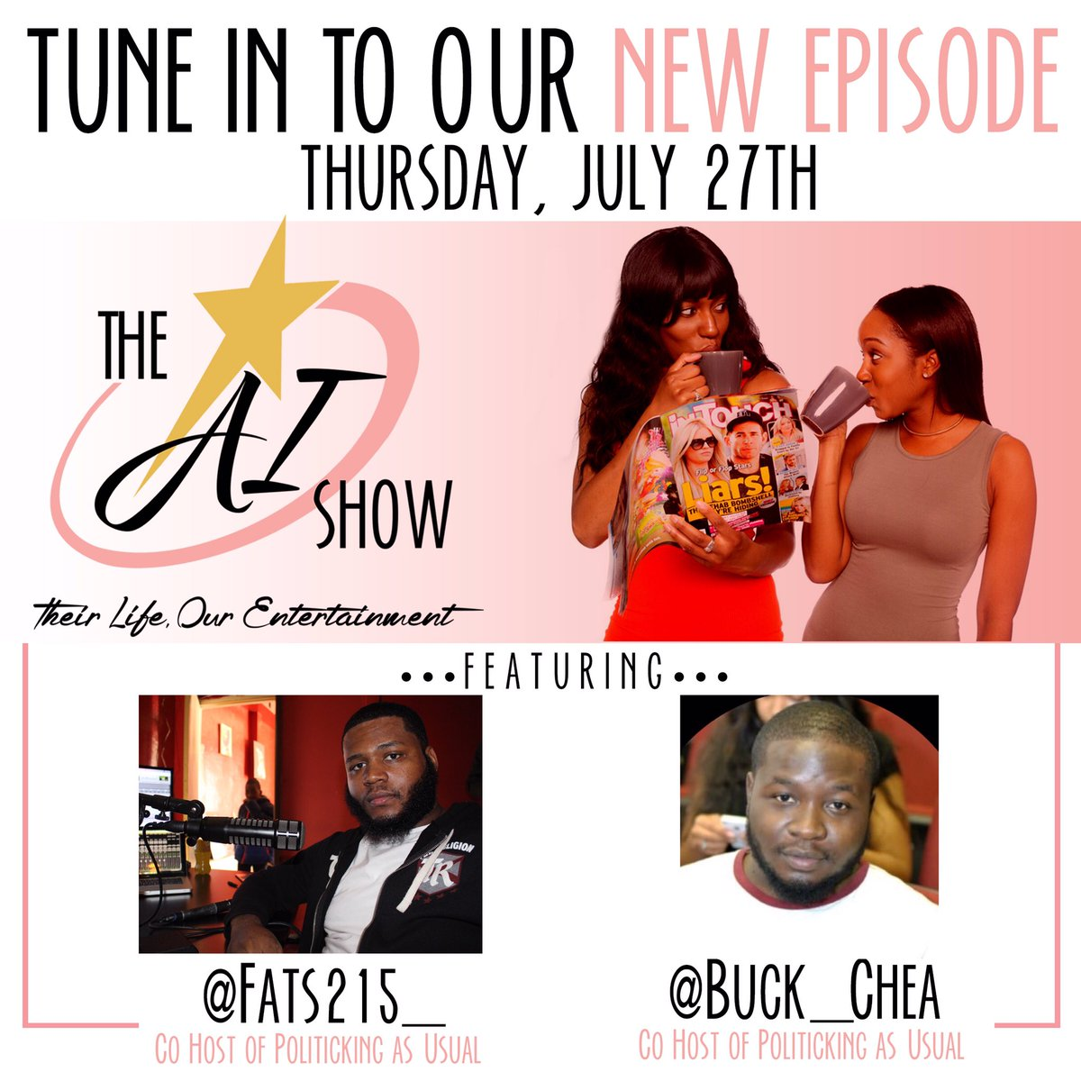 #PAU takes on @TheAIShow1 this Thursday stay tuned!<br>http://pic.twitter.com/J2jhpWUslz