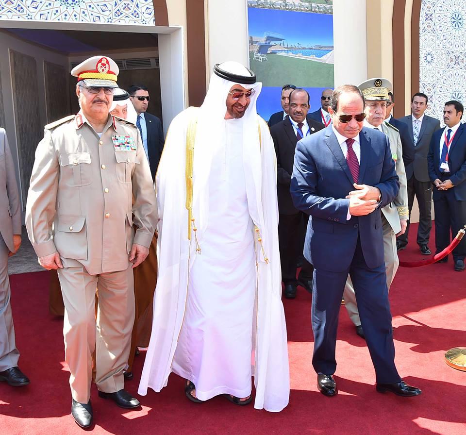 Церемония открытия в Египте крупнейшей военной базы на Ближнем Востоке и в Африке