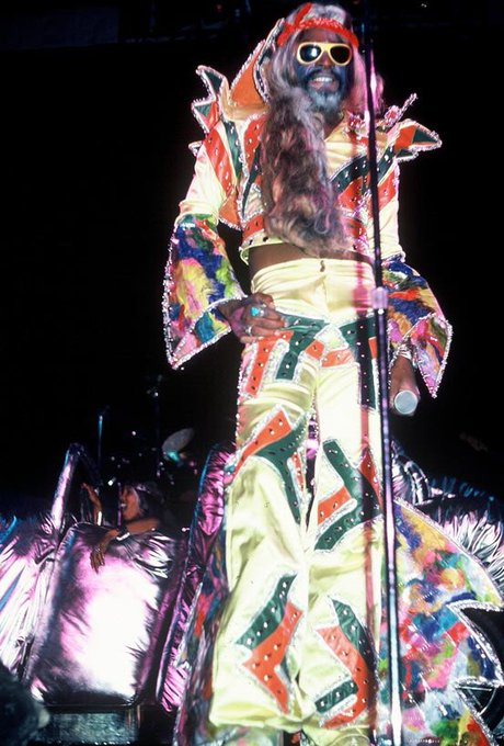 Happy Birthday to Funk legend and leader of Parliament-Funkadelic, George Clinton !!