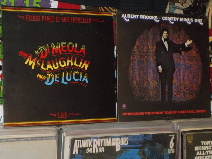 Happy Birthday to Al Di Meola & Albert Brooks