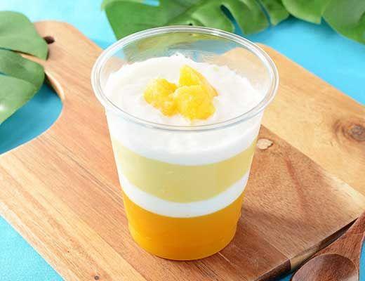 【マンゴーとミルク味】ローソン「4層仕立てのマンゴーミルク&ゼリー」新発売https//mognavi.jp/news/newitem/80003/  \u2026 7月25日(火)発売です!