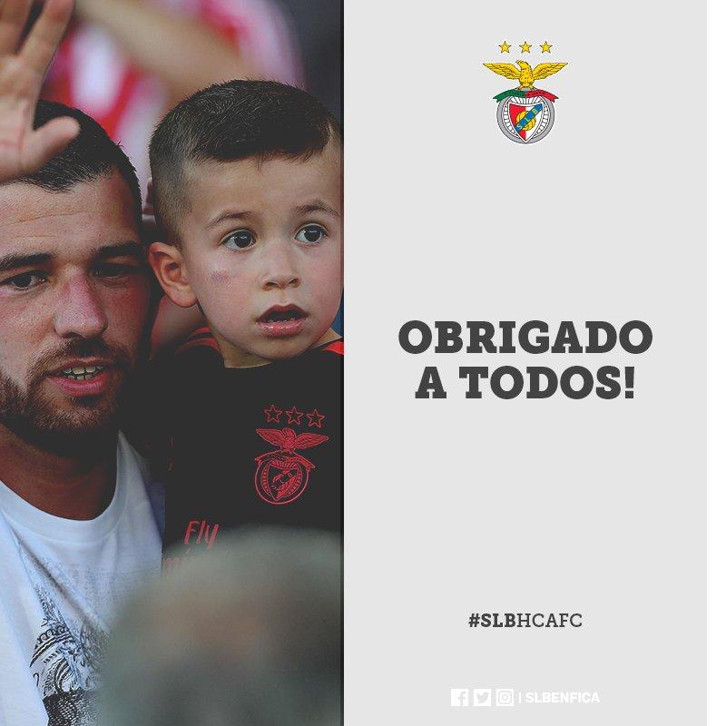 Muito obrigado a todos os que estiveram com o Benfica neste dia, no Algarve, em Leiria, em Minsk... #SejaOndeFor!