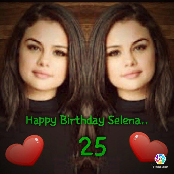 Happy Birthday Selena Gomez..