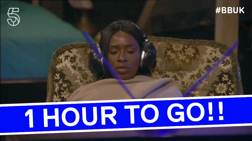 Get cosy, there's just 1 HOUR until tonight's #BBUK!! https://t.co/bCEJo3rkWf