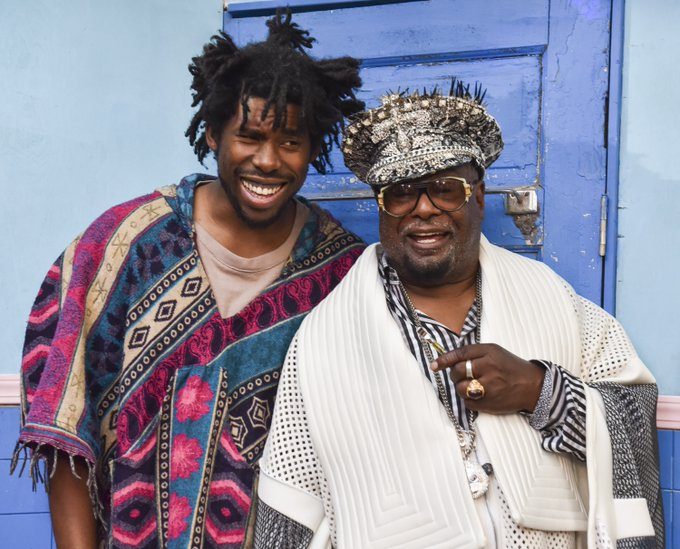 Happy birthday to the legendary George Clinton.