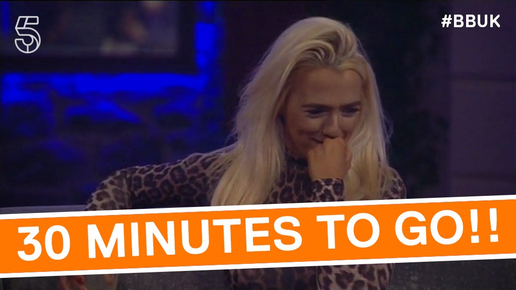 Get your giggle on!! Just HALF AN HOUR until tonight's show!! 🤣🤣🤣 #BBUK https://t.co/72ZZHrDhsD