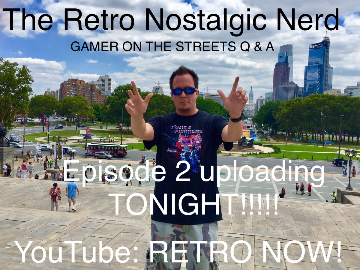 The wait is almost over!! This Nerd hit the streets hard over the course of an entire week! #nerd #retrogaming #geek #gamer #videogames<br>http://pic.twitter.com/hggpsTCW4b