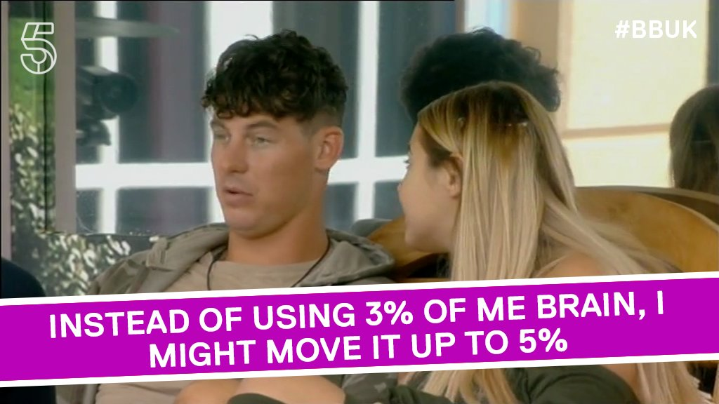 Don't push yourself TOO much Sam. 🤔 #BBUK https://t.co/YqZC2xqNaR
