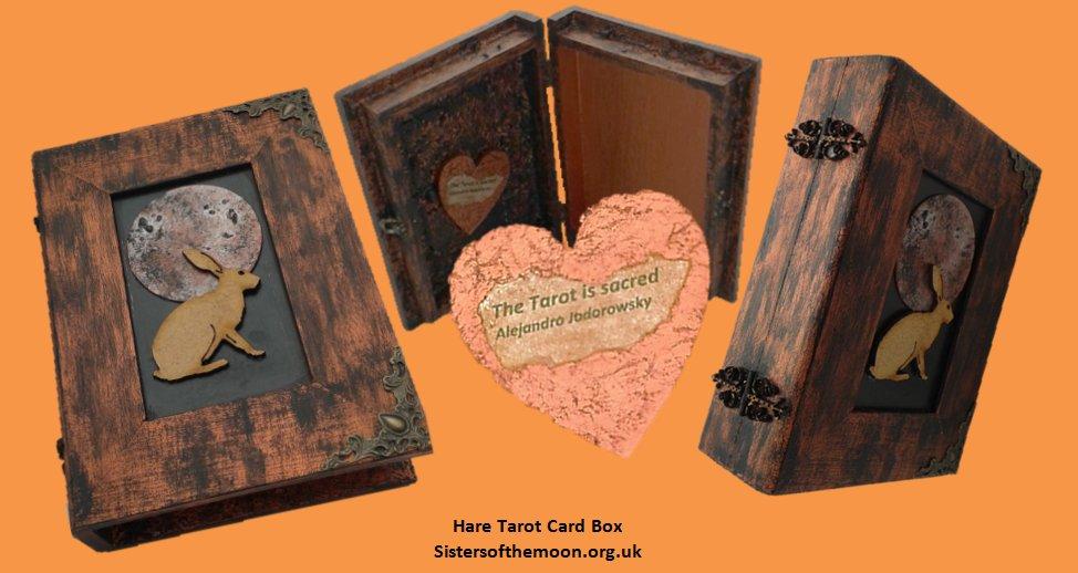 Did you know the Norse Goddess Freyja had hare attendants? #Hare #Tarot #Card #Box  http:// bit.ly/2oPeWTu  &nbsp;   #earlybiz #ATSocialMediaRT<br>http://pic.twitter.com/2qvpMR3V1c