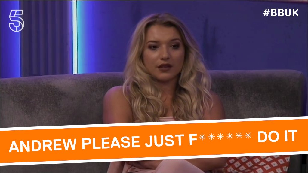 Charlotte doesn't mince her words, does she? 😂 #BBUK https://t.co/D1wvlS6PWt